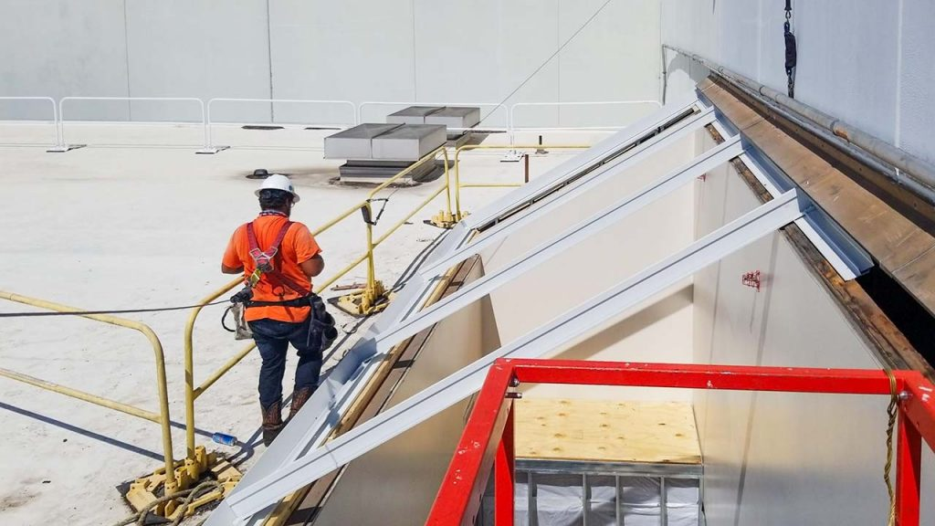 replace Proctor Gamble failed fiberglass skylight 30019-12