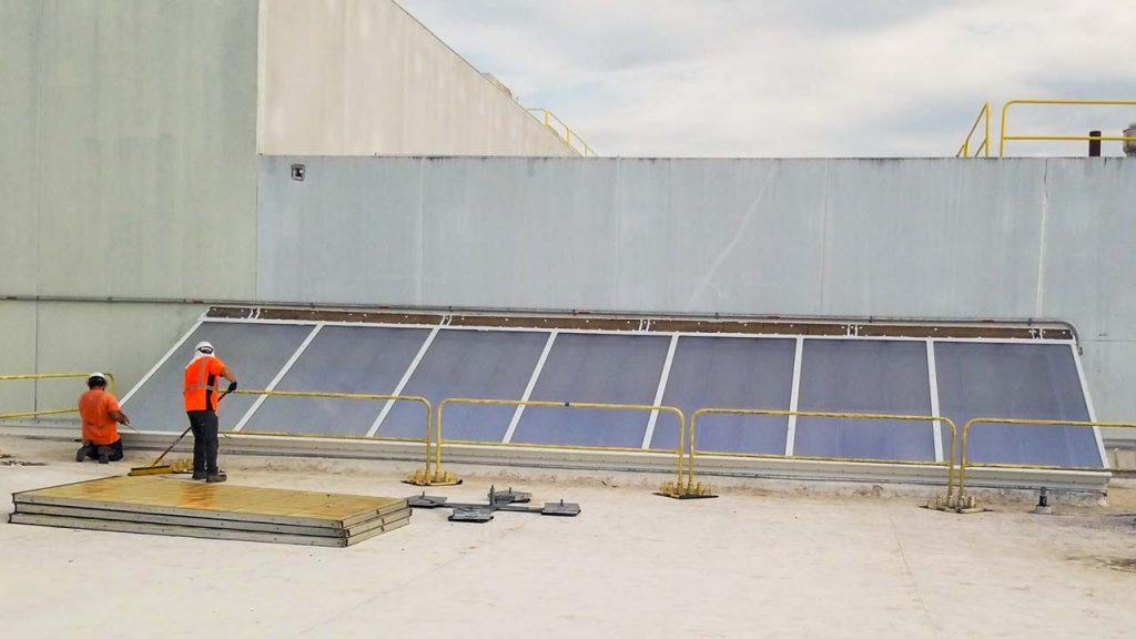 replace Proctor Gamble failed fiberglass skylight 30019-14