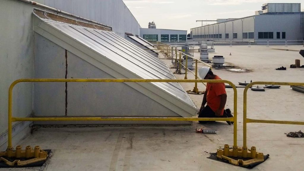 replace Proctor Gamble failed fiberglass skylight 30019-15