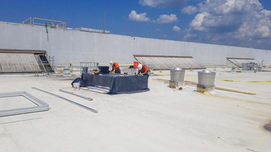 replace Proctor Gamble failed fiberglass skylight 30019-4