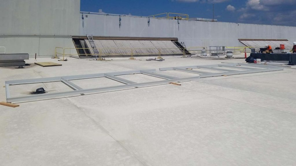 replace Proctor Gamble failed fiberglass skylight 30019-5