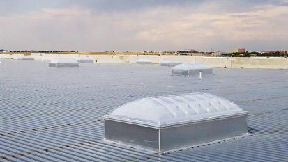 Velux Dynamic Domes | Centerra Ind Bldg 6