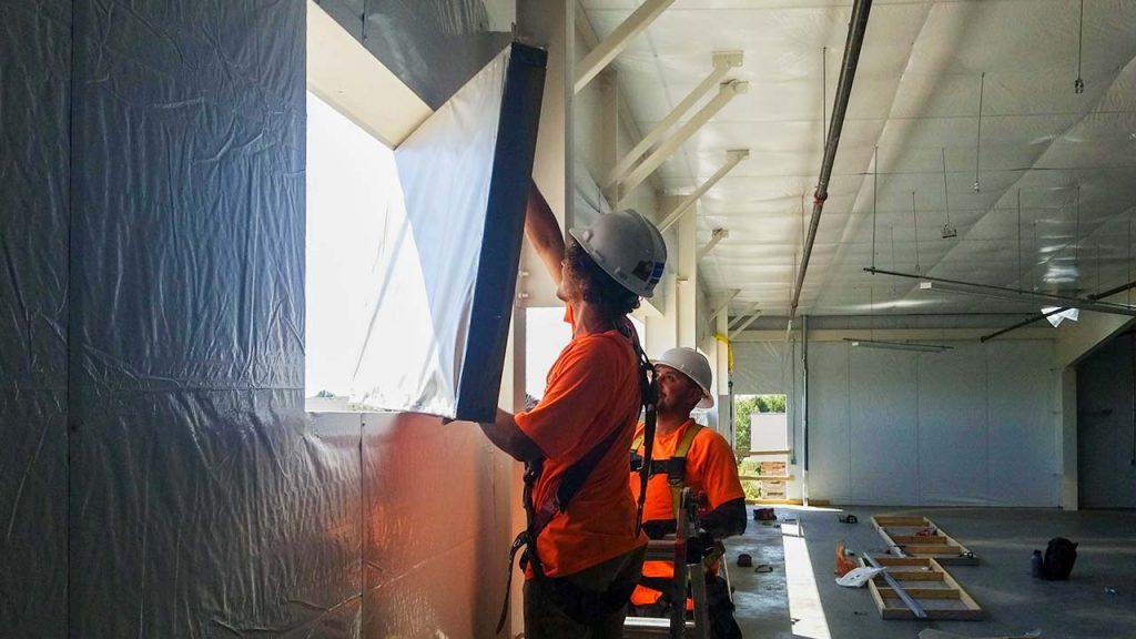 wall light installation 30625-19