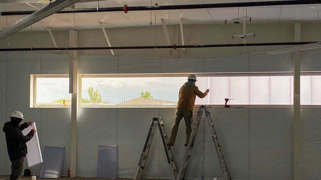 wall light installation 30625-30