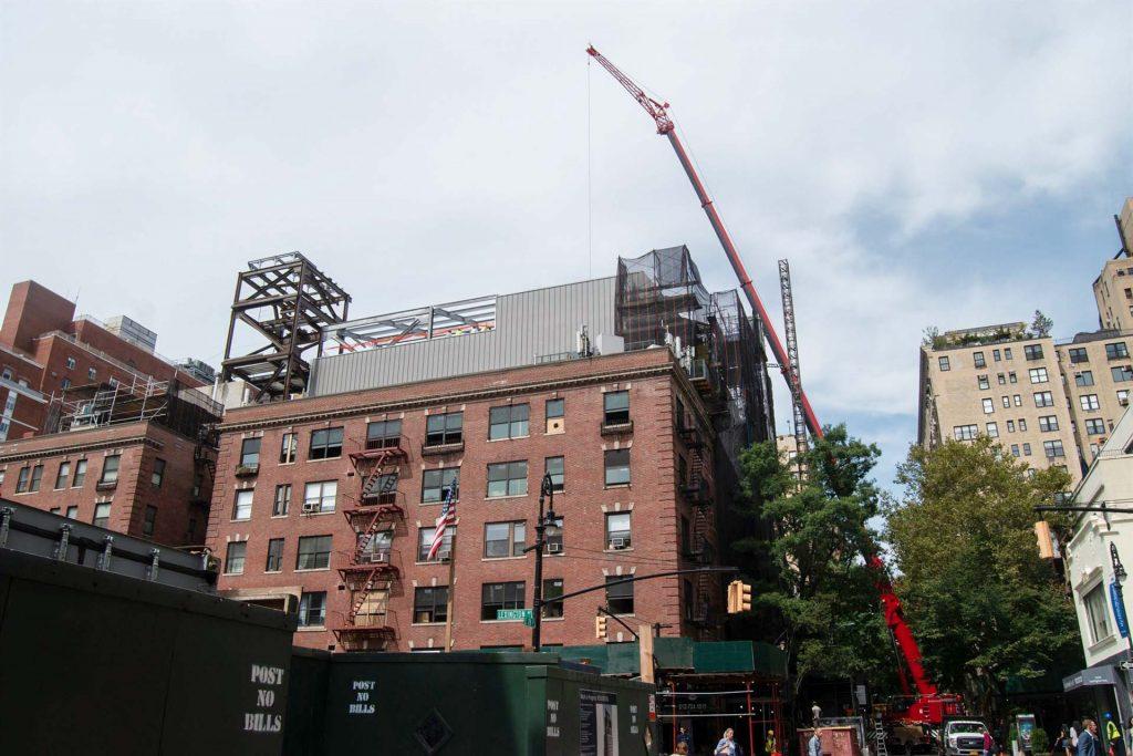 skylight installation crane 31786