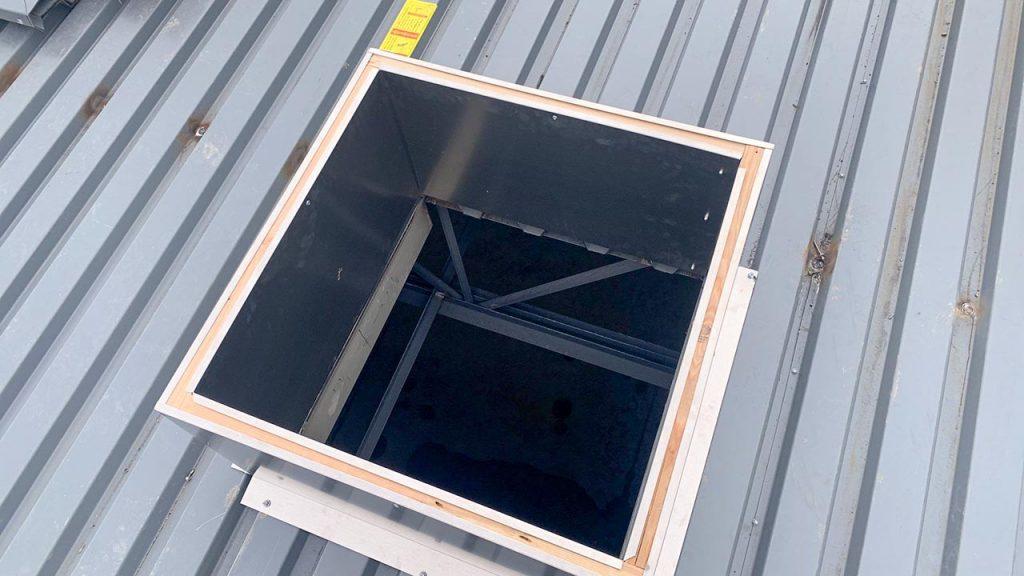 Bell MS Sun Tunnel install 31652-7