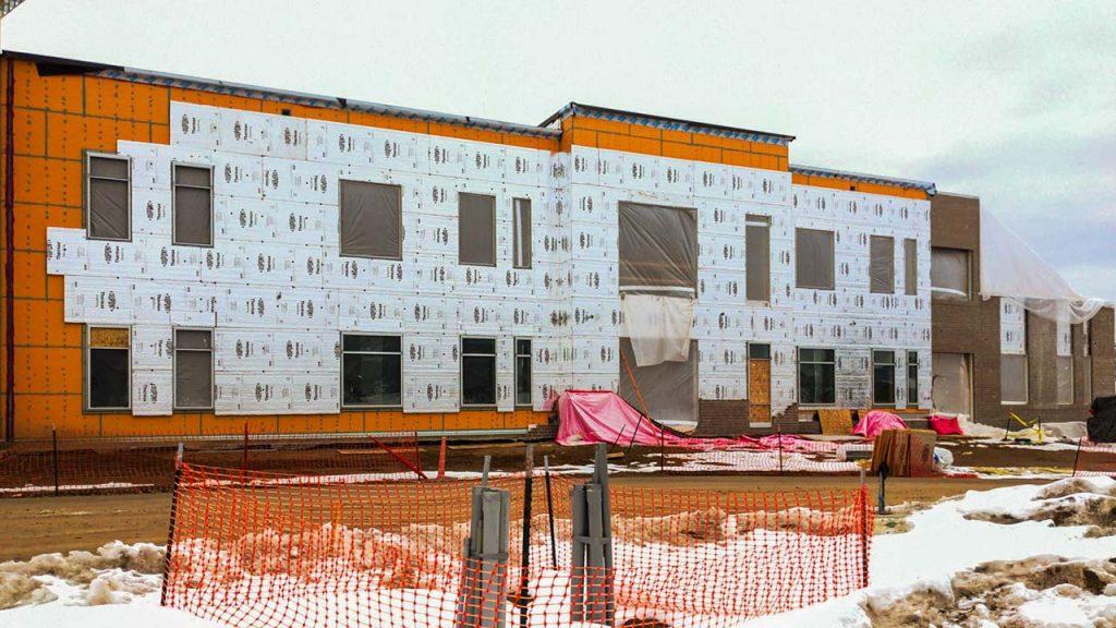 Centria wall panel installation 31577-1