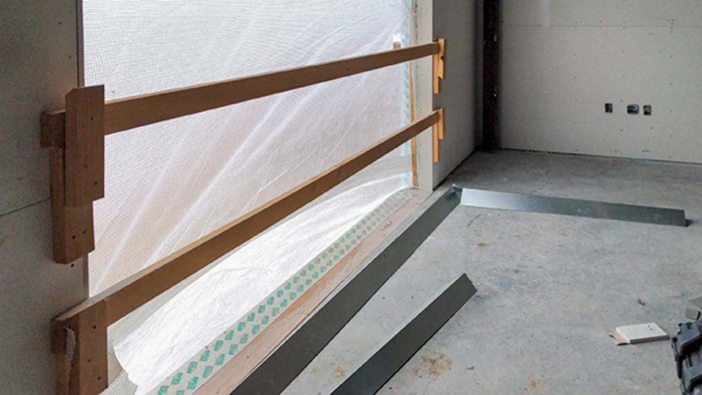 Centria wall panel installation 31577-5