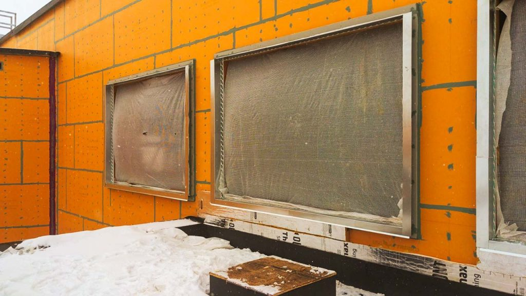 Centria wall panel installation 31577-8