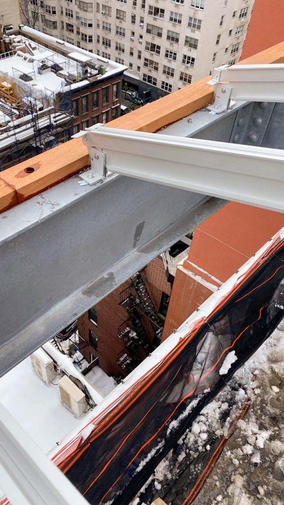 skylight installation Allen Stevenson school 31786-10