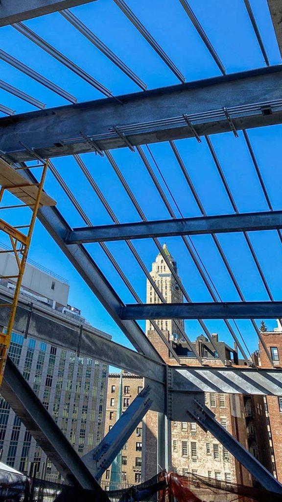 skylight installation Allen Stevenson school 31786-12