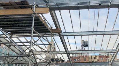 Skylight Installation | Allen Stevenson School