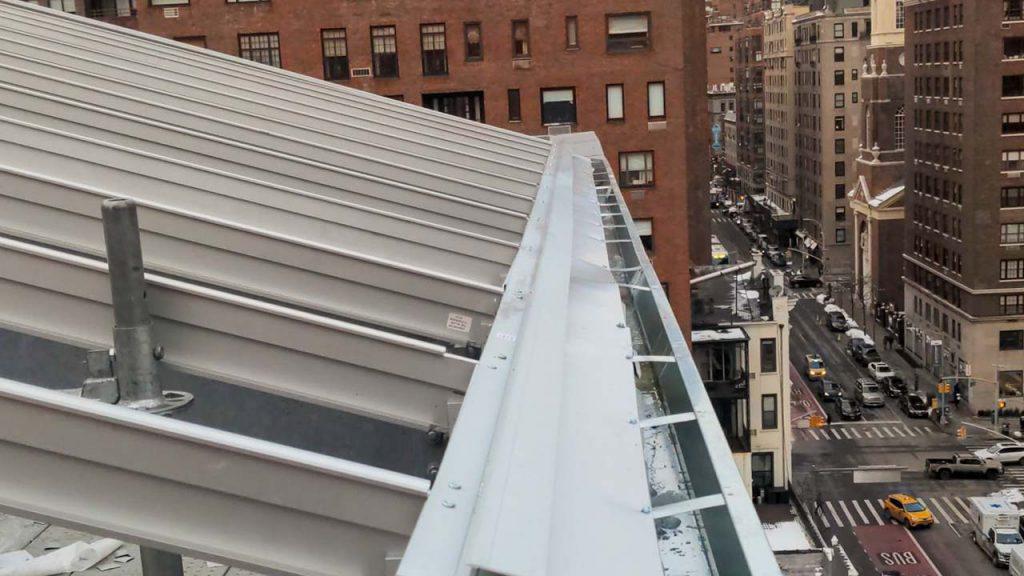 skylight installation Allen Stevenson school 31786-16