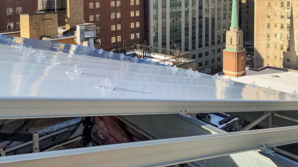 skylight installation Allen Stevenson school 31786-17