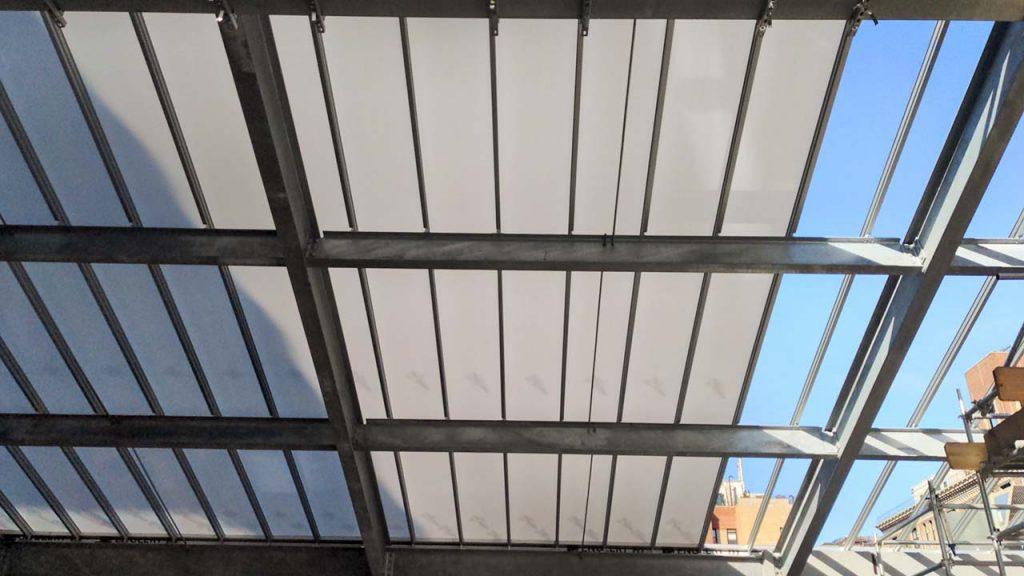 skylight installation Allen Stevenson school 31786-18