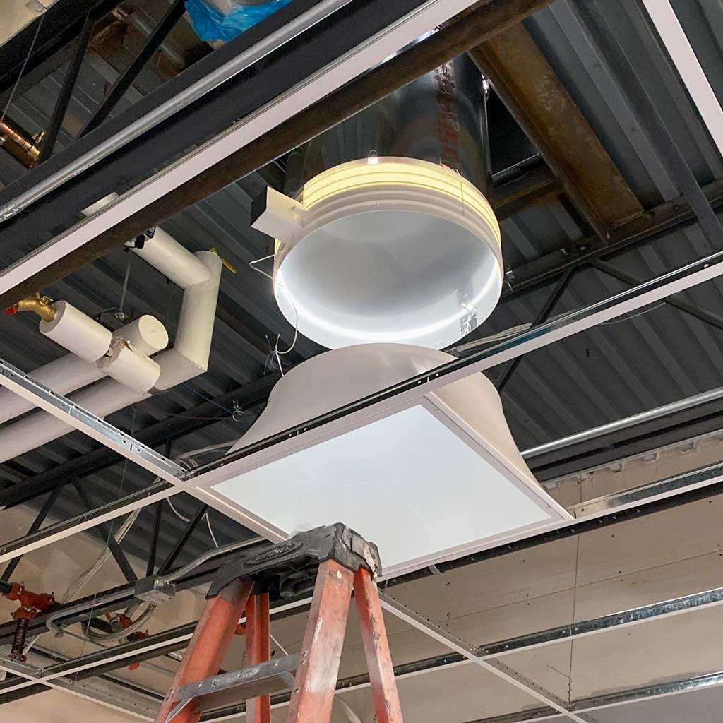 Bell MS Sun Tunnel install 31652-17