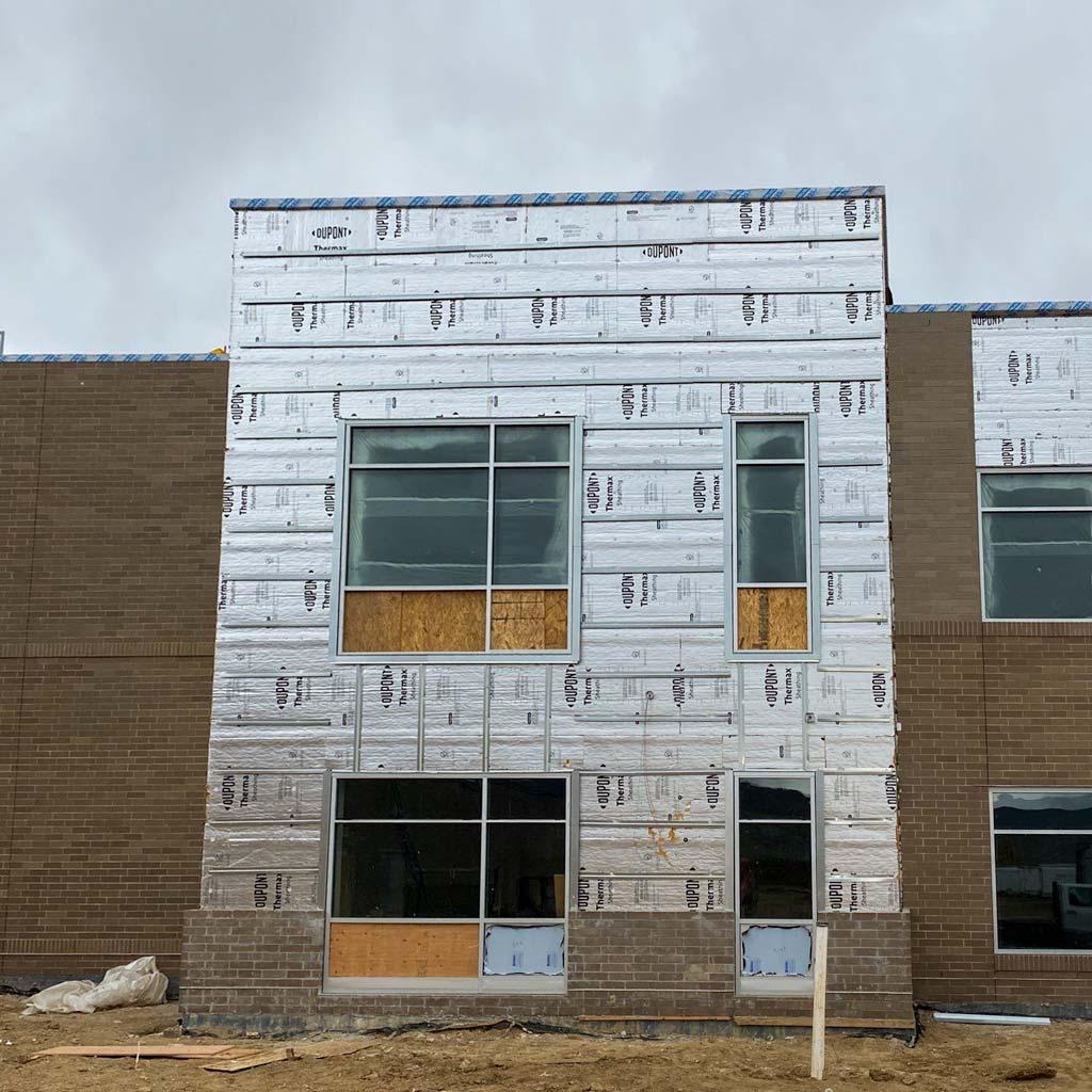 Centria wall panel installation 31577-11