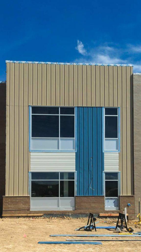 Centria wall panel installation 31577-29